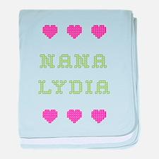 Nana Lydia baby blanket