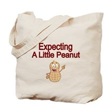 Expecting a little Peanut Tote Bag