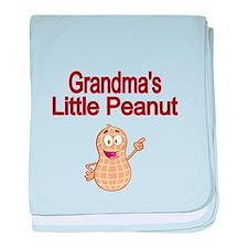 Grandmas Little Peanut baby blanket