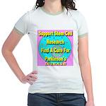Support Stem Cell Research Jr. Ringer T-Shirt