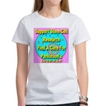 Support Stem Cell Research Women's T-Shirt