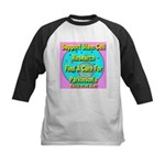 Support Stem Cell Research Kids Baseball Jersey