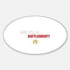 Are you a battlement? Decal