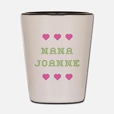 Nana Joanne Shot Glass