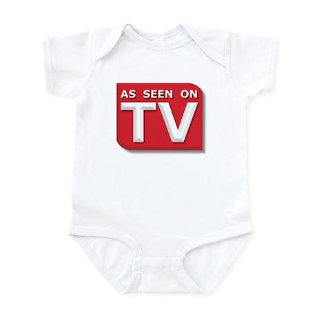 Funny As Seen on TV Logo Infant Bodysuit