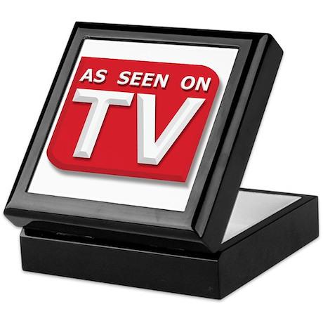 Funny As Seen on TV Logo Keepsake Box