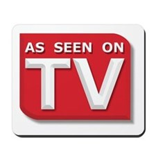 Funny As Seen on TV Logo Mousepad