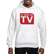 Funny As Seen on TV Logo Hoodie