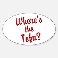 Wheres the Tofu? Decal