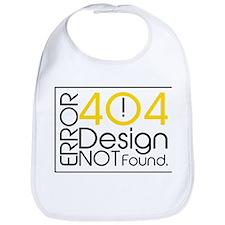 Error 404: Design Not Found Bib