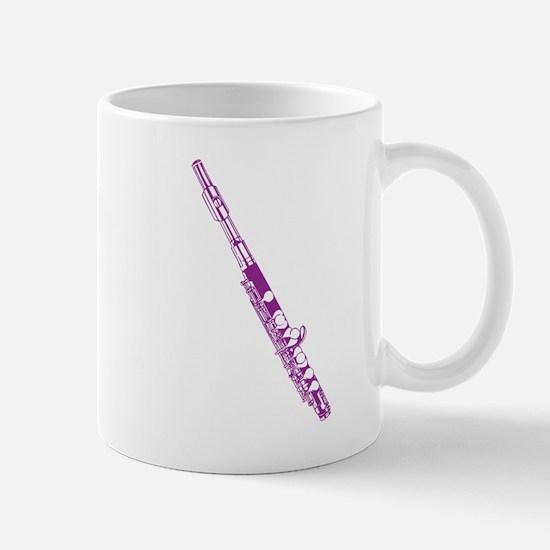 Purple Flute Mug