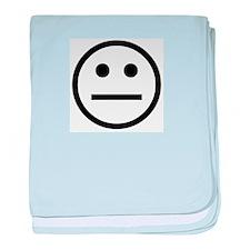idiotboy Logo baby blanket