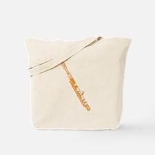 Orange Flute Tote Bag