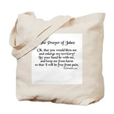 Jabez Prayer Tote Bag