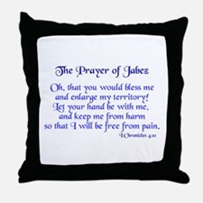 Jabez Prayer Throw Pillow