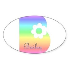 Bailey Oval Decal