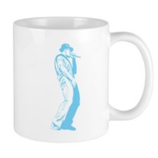 Light Blue Old School MC Mug