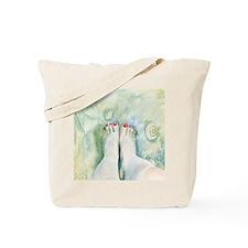 First Pedicure Tote Bag