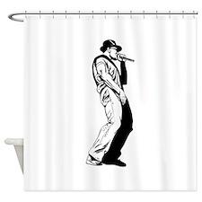 Old School MC Shower Curtain