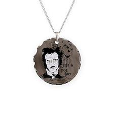 Funny Edgar Allen Poe Necklace