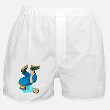 Rollerblading Boxer Shorts
