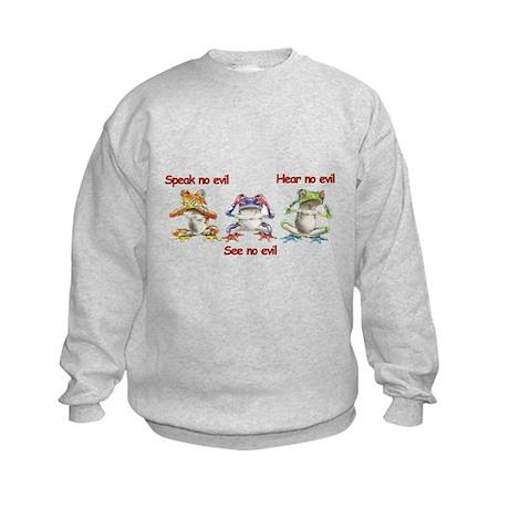 Three Frogs Kids Sweatshirt