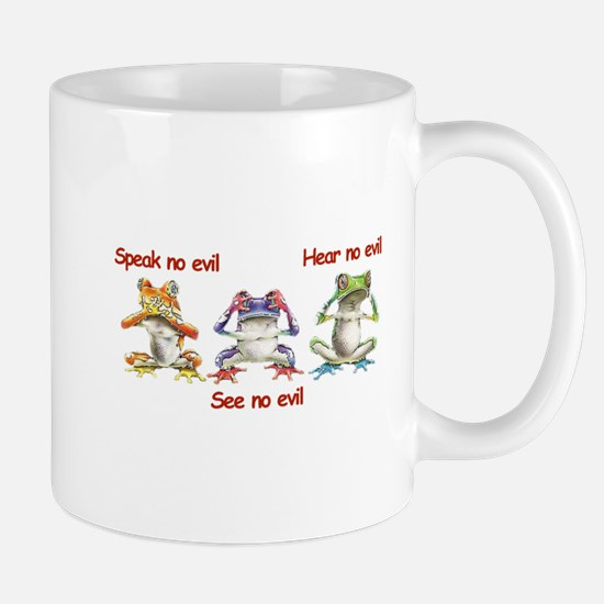 Three Frogs Mug