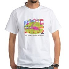 Flamingo Lawn Art Shirt