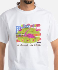 Flamingo Lawn Art Shirt