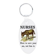 Nurses Save the Day Keychains