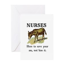 Nurses Save the Day Greeting Card