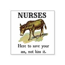 Nurses Save the Day Sticker