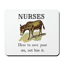 Nurses Save the Day Mousepad