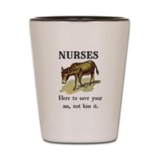 Nurses Save the Day Shot Glass
