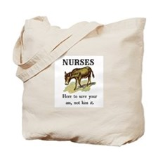 Nurses Save the Day Tote Bag