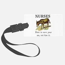 Nurses Save the Day Luggage Tag