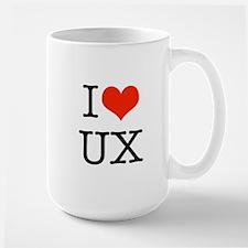 I heart UX Mug