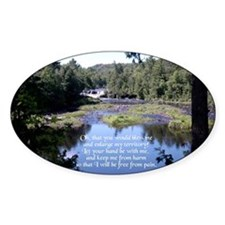 Jabez Prayer Oval Decal