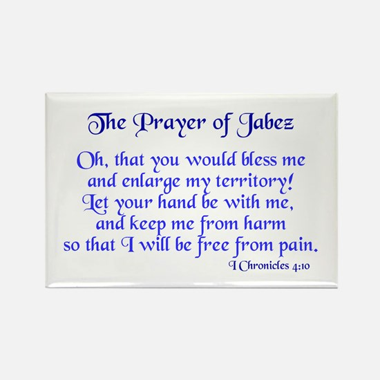 Jabez Prayer Rectangle Magnet