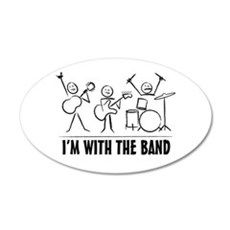Stickman Band Wall Decal