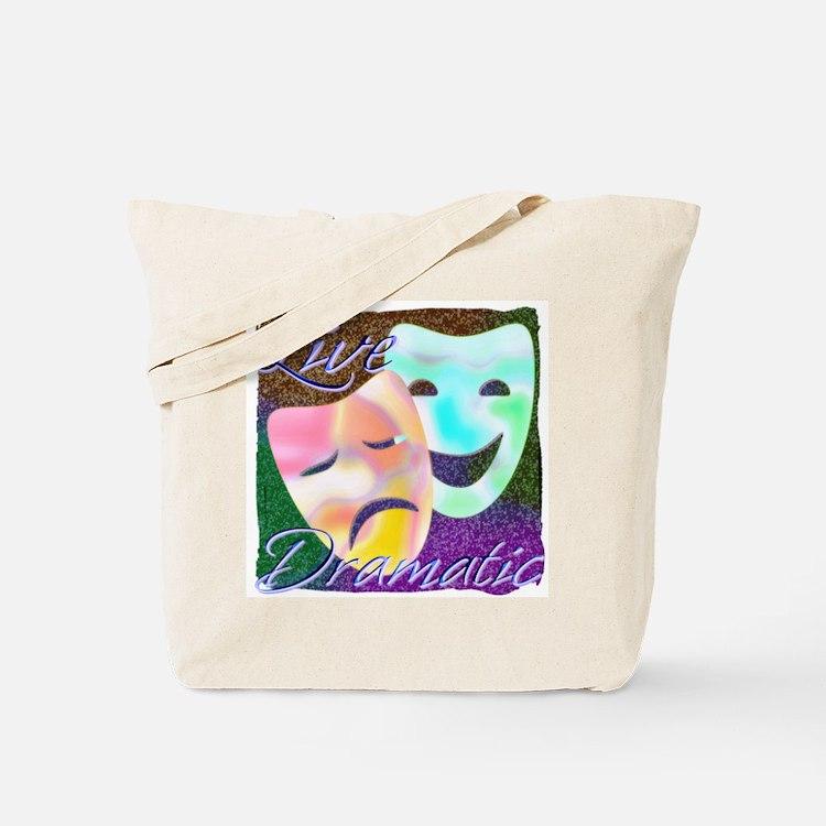 Live Dramatic Thespian Drama Tote Bag