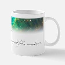 Remembrance Star Nebula Mug