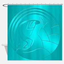 Kokopelli Circle of Life #2 Shower Curtain