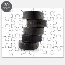 Official Ice Hockey Pucks Puzzle