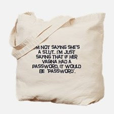 Password Tote Bag
