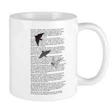 The Raven poem, Edgar Allan Poe poetry Mug