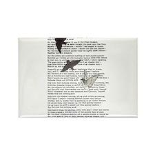 The Raven poem, Edgar Allan Poe poetry Rectangle M