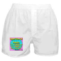Support Stem Cell Research It Boxer Shorts