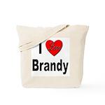I Love Brandy Tote Bag