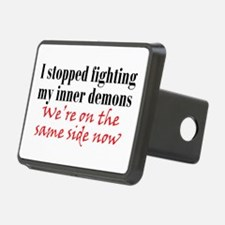 Fighting Inner Demons Hitch Cover